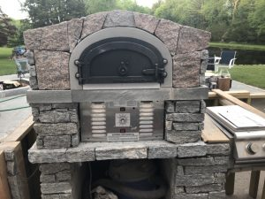 pizz oven close look